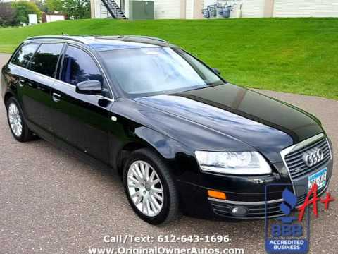 2006 audi a6 3 2l avant awd quattro wagon black very rare. Black Bedroom Furniture Sets. Home Design Ideas