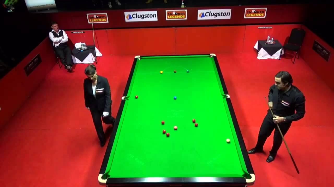 Ronnie O'Sullivan 147 Maximum VS Jimmy White -2015 Snooker Legends -