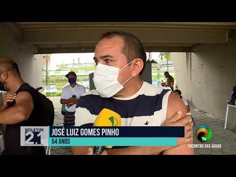 BOLETIM #2.1 - PREFEITURA DE MANAUS INICIA NOVA ETAPA DE VACINAÇÃO- 09.06.2021
