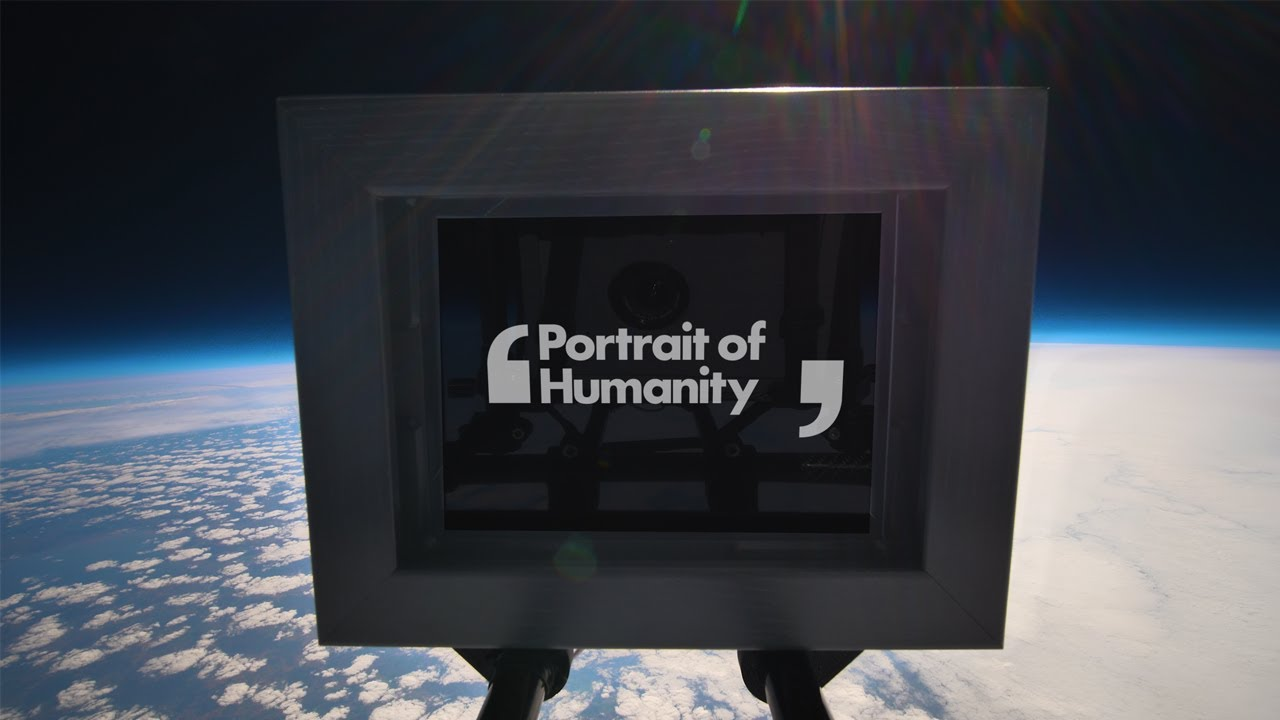 Portrait of Humanity | The world's first photography exhibition in Space