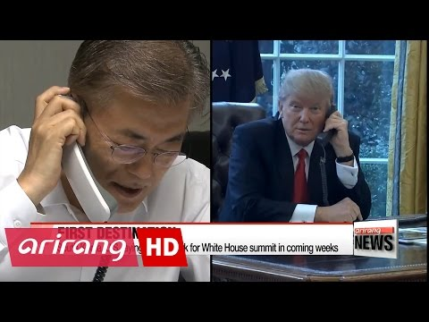 President Moon's first overseas trips expected to be Washington, Beijing then Tokyo