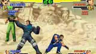 King of Fighters 2000 (Multi Character Combo Exhibition)
