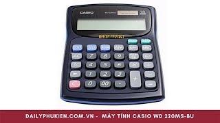 Máy tính chịu nước Casio WD 220MS và casio WM 220MS Giá 510k tại Dailyphukien.com.vn