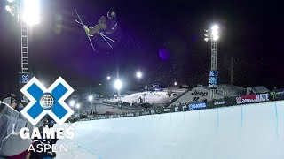 David Wise wins Men's Ski SuperPipe gold | X Games Aspen 2018