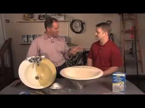homax tough as tile tub and sink refinishing kit