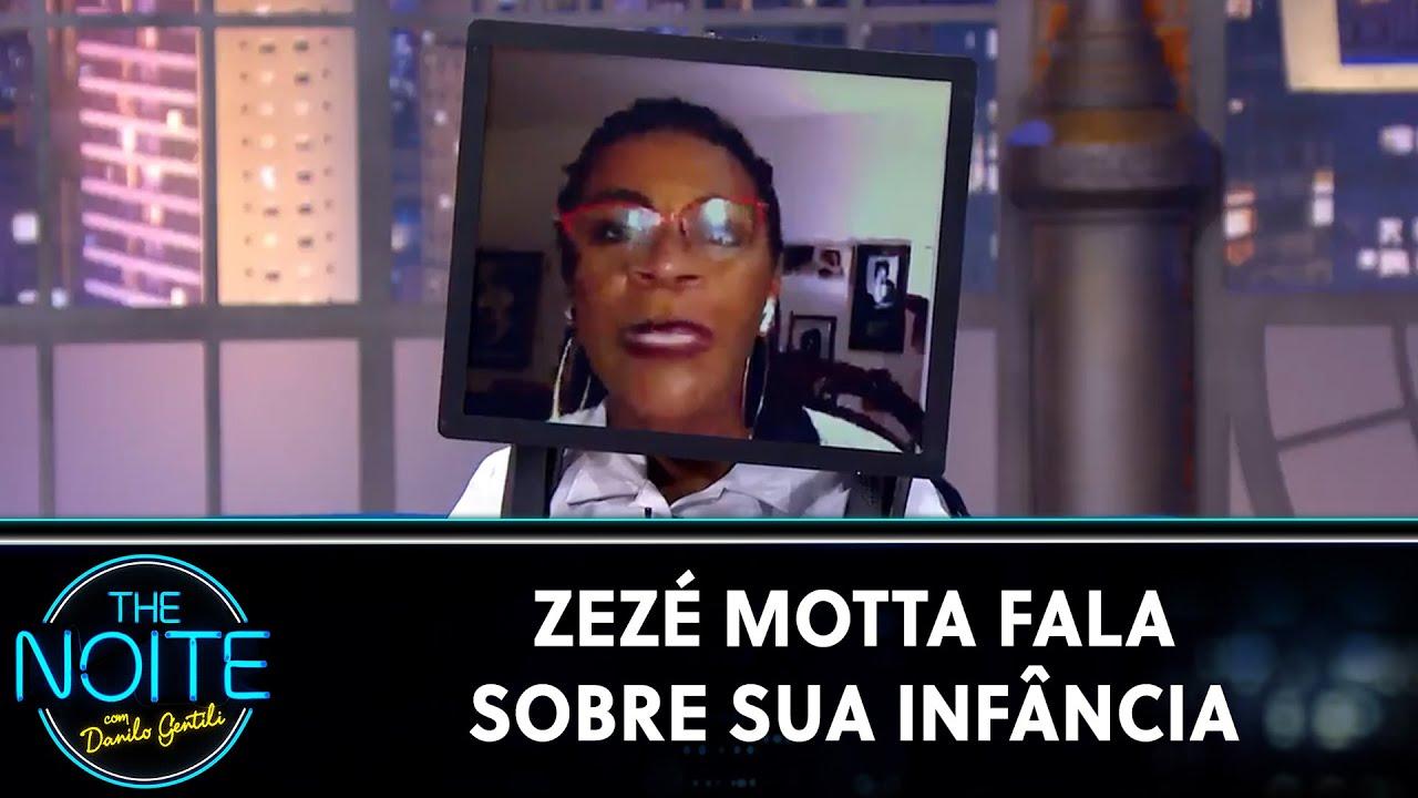 Zezé Motta fala sobre sua infância | The Noite (11/08/20)