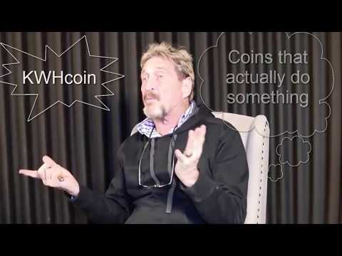 KWHCoin ICO REVIEW! KWHCoin - Renewable Energy Cryptocurrency! John McAfee SUPPORT