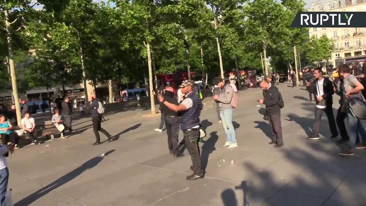 «Жёлтые жилеты» в 28-й раз вышли на акцию протеста во Франции