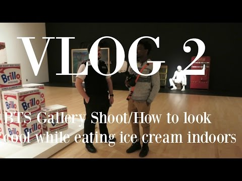 VLOG 2 | Ottawa National Art Gallery Shoot BTS | Gelatos and Poutine | Might as Well Craig