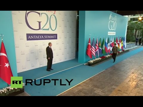 LIVE: G20 leaders to meet in Antalya: Day 1