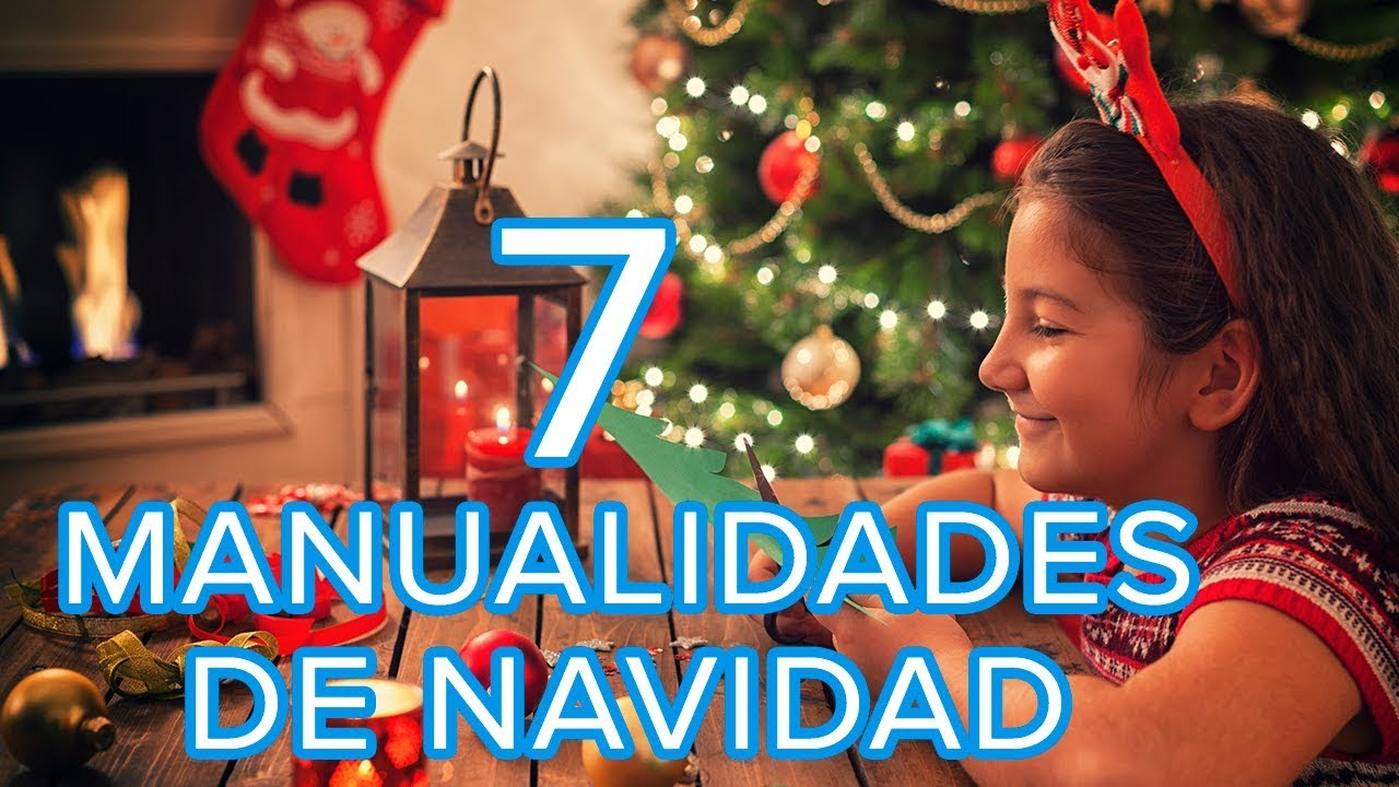 7 manualidades de navidad para hacer con los ni os youtube - Felicitaciones de navidad originales para ninos ...