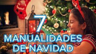 7 manualidades de Navidad para hacer con los niños