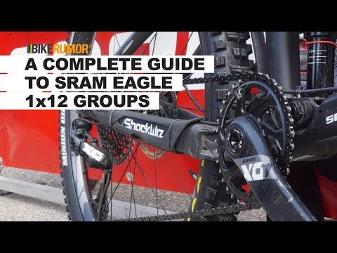 Complete SRAM Eagle Comparison – What's the difference between NX, GX, X01 & XX1?