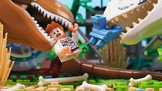 Hooligans in Lego Jurassic World 2 - Mini movie