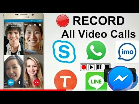 How to Record Video call on IMO, Skype, Whatsapp, Facebook on Mobile - Record Skype Video Calls