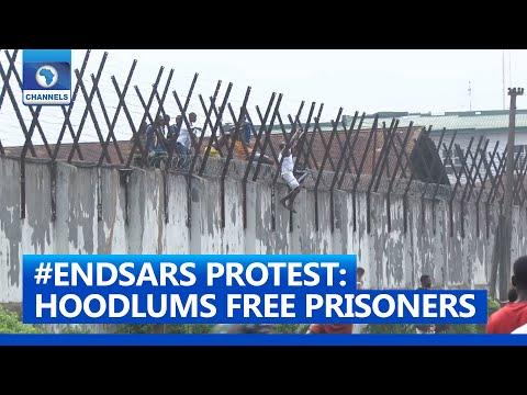 #ENDSARS Protest: Hoodlums Storm Correctional Centre In Benin, Free Prisoners