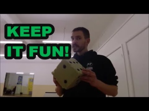 Kickboxing Training - Keep It Fun! - Training Tips