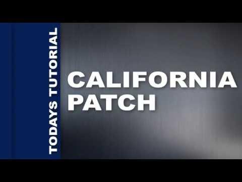 NASCO CALIFORNIA PATCH