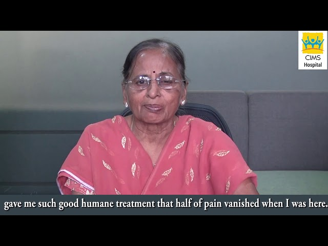 Broken Arm Patient Back To Normal In A Week - Dr. Pranav Shah. Patient Testimonial : CIMS Hospital