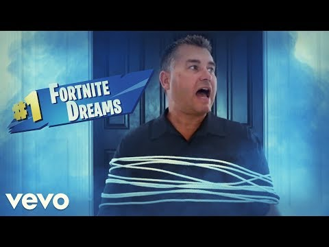 Juice WRLD - Lucid Dreams PARODY - Fortnite Dreams (Official Music Video) #FortniteRap