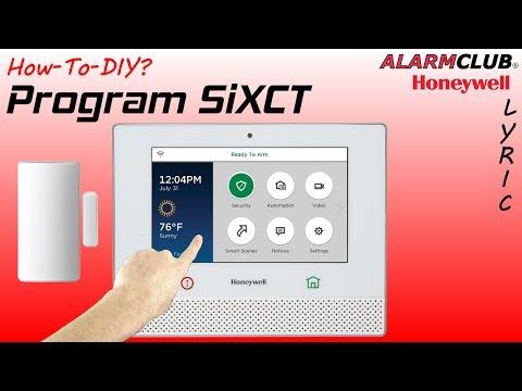 SixMINICT - Honeywell Wireless Door & Window Contact (for