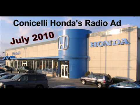 Conicelli Honda's Radio Ad for July 2010