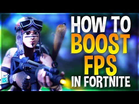 🔧FORTNITE   FPS BOOST FOR LOW END PCs  LAPTOPS INCREASE FPS GUIDE 2019 Season 9  NEW