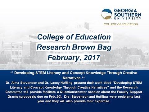 COE Research Brown Bag, Feb 14, 2017