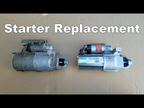 How to Replace A Starter On a Pontiac Trans Am & Chevy Camaro (1995-2002)