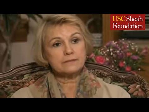 Holocaust Survivor Paula Lebovics Testimony