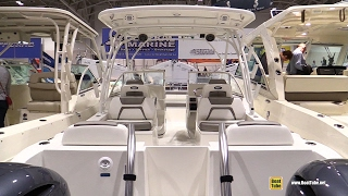 2016 World Cat 255 DC Fishing Catamaran - Walkaround - 2017 Toronto Boat Show