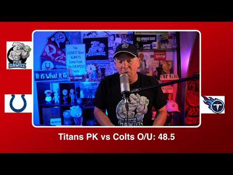 Tennessee Titans vs Indianapolis Colts 11/12/20 NFL Pick and Prediction Thursday Week 10 NFL