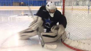 RVH DOUBLE HINGE RECOVERY (NHL SKILLS) goaltending coach Pasco Valana