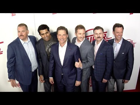 Rob Lowe, Paul Soter, Steve Lemme and more at Super Troopers 2 Los Angeles film premiere Red carpet