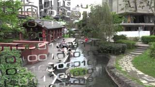 文夏 站在台灣的街上