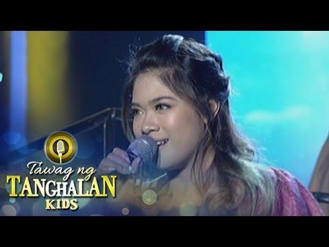 "Tawag ng Tanghalan Kids: Gidget Dela Llana sings ""Laguna"""