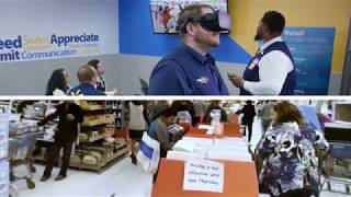 Walmart Virtual Reality in Academies