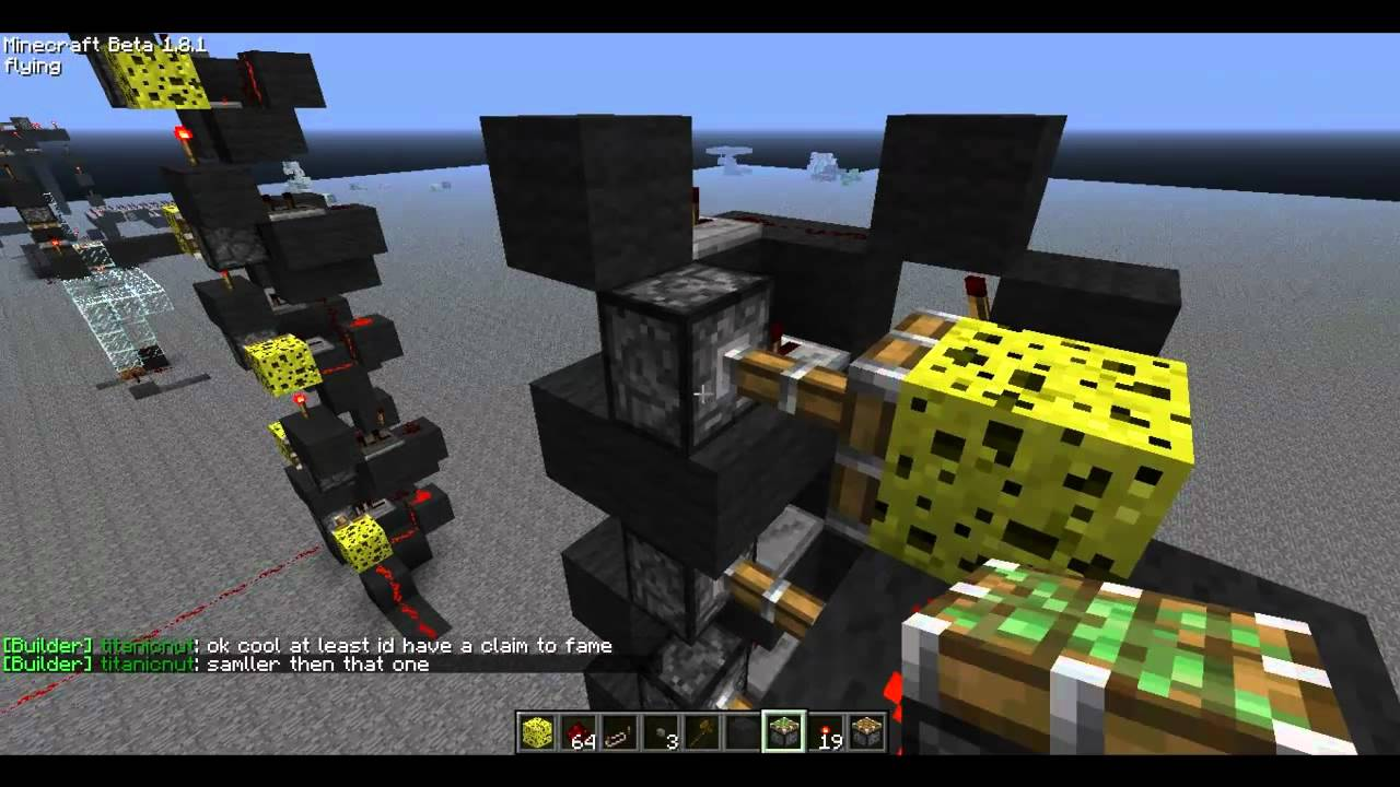 instant vertical redstone instant wire youtube rh youtube com Redstone Active Redstone Active