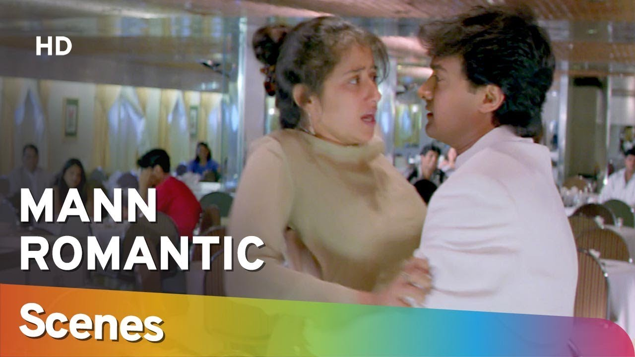 Download Romantic Scenes from Mann (HD) Aamir Khan | Manisha Koirala | Neeraj Vora - 90's Romantic Movie