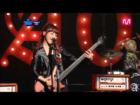 AOA_ELVIS (ELVIS by AOA @Mcountdown 2012.08.09)