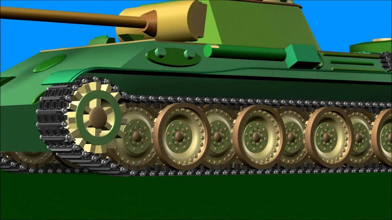 Tank fight animation -...