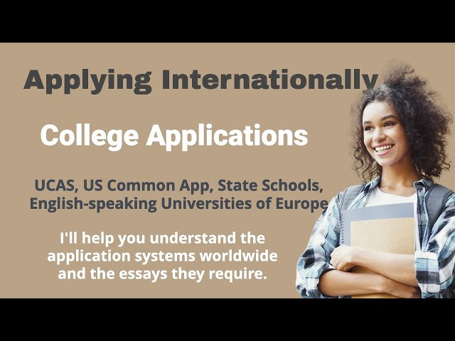 Applying to College Around the World