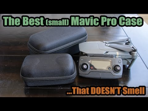 The Best DJI Mavic Pro Case-Small Carrying Case Review *No Smell!*
