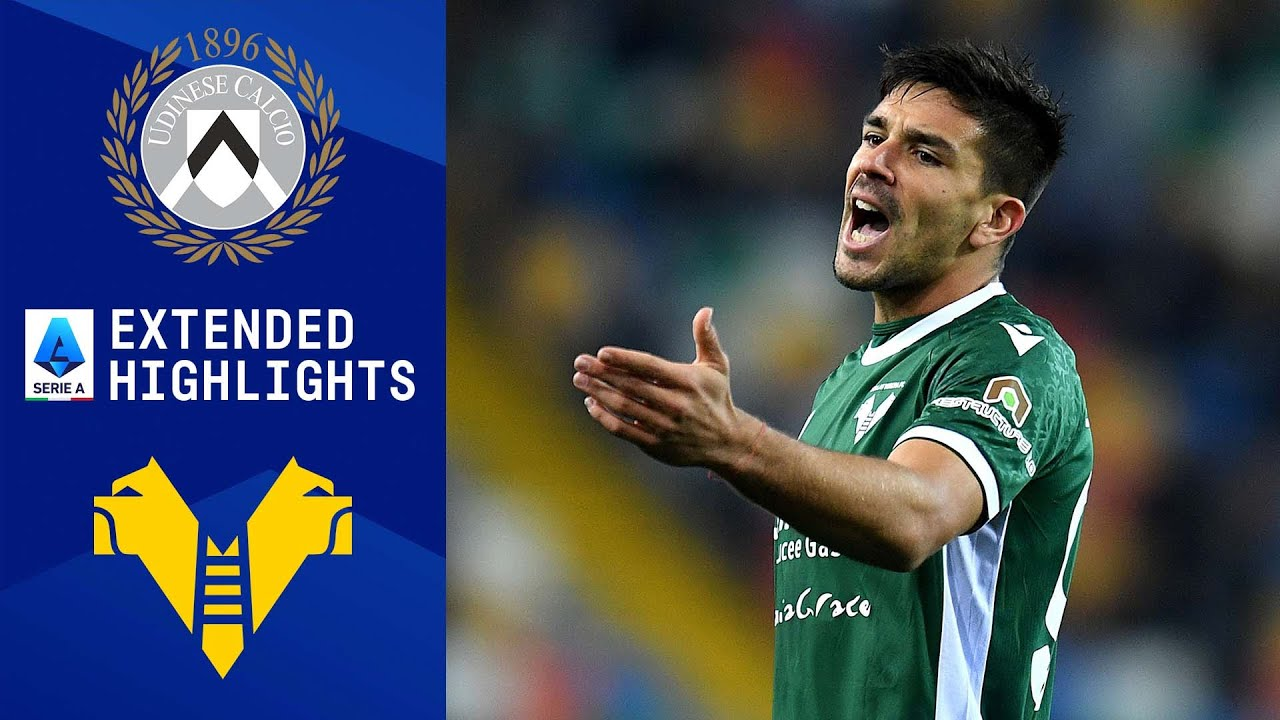 Download Udinese vs. Hellas Verona: Extended Highlights   Serie A   CBS Sports Golazo