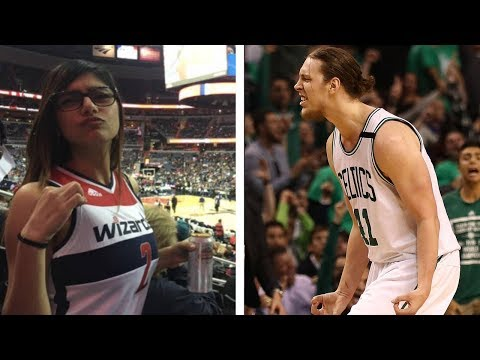 Porn Star Mia Khalifa TROLLS Kelly Olynyk During Game 7