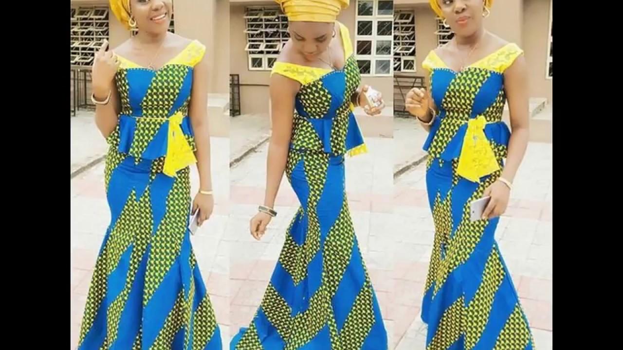 Latest #Ankara #Styles 2018 For Fashionable #Africa Women - YouTube