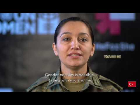 UN WOMEN - International Women's Day 2016 - Message from military personell