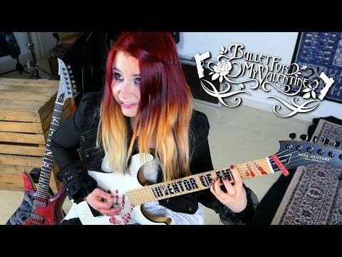 BULLET FOR MY VALENTINE - Tears Don't Fall [GUITAR COVER] with SOLO 4K | Jassy J