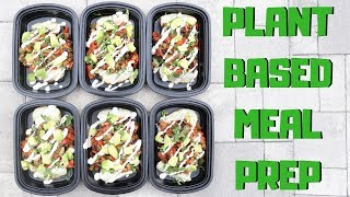 Loaded Baked Potatoes    Plant Based Meal Prep    Steph and Adam