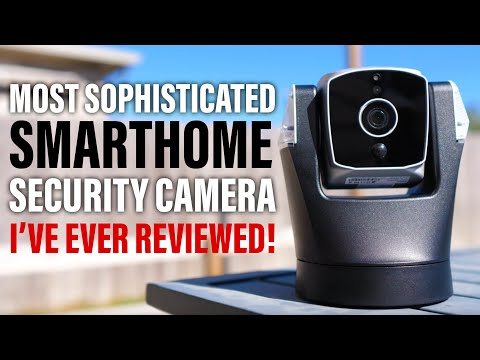 Biometric Auto Tracking Outdoor Security SmartHome Camera - Amaryllo Ares Review